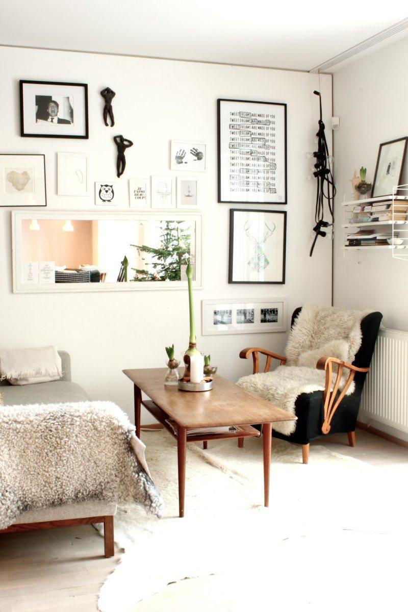Гостиная в скандинавском стиле (45)