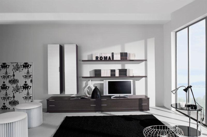 Гостиная в стиле модерн (23)
