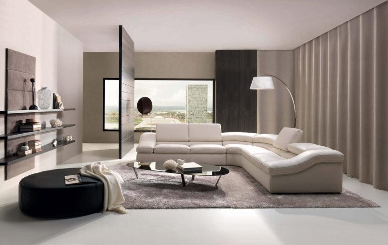 Гостиная в стиле модерн (55)