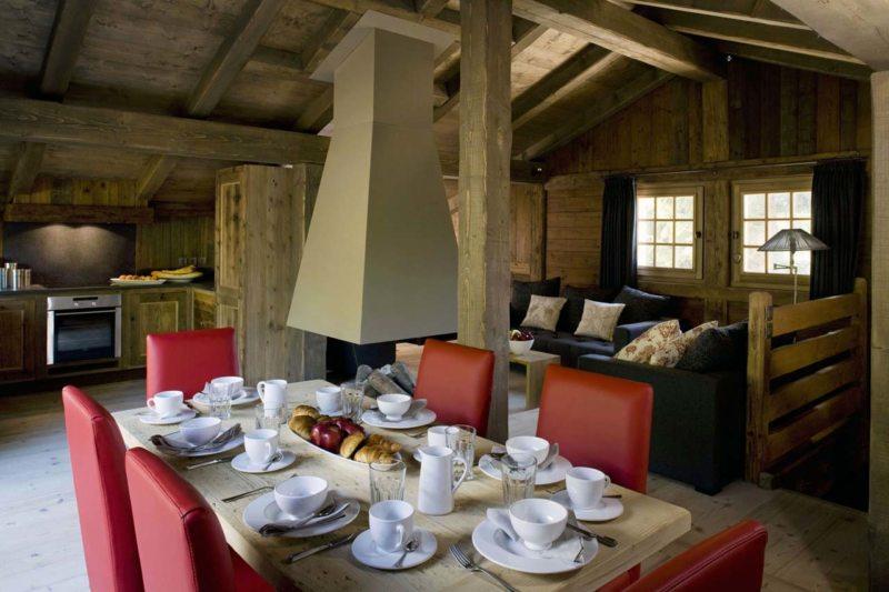 Гостиная в стиле шале (4)