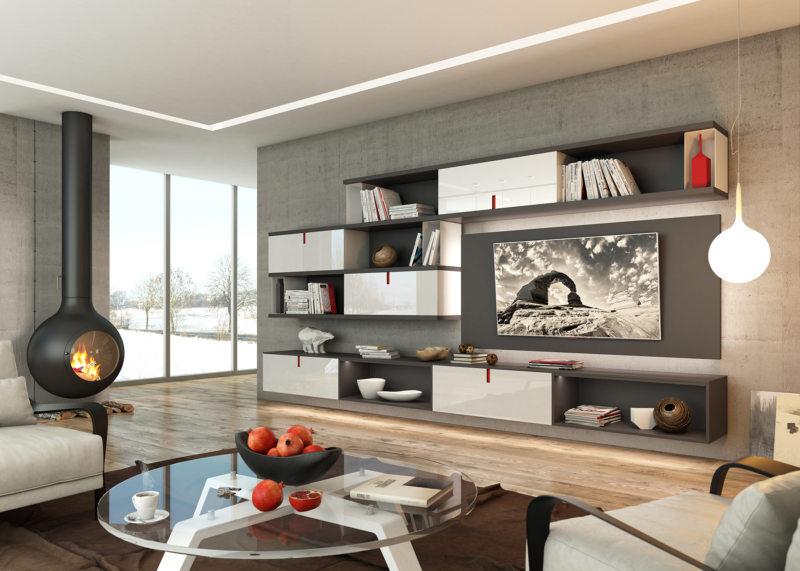 Как расставить мебель в гостиной (55)