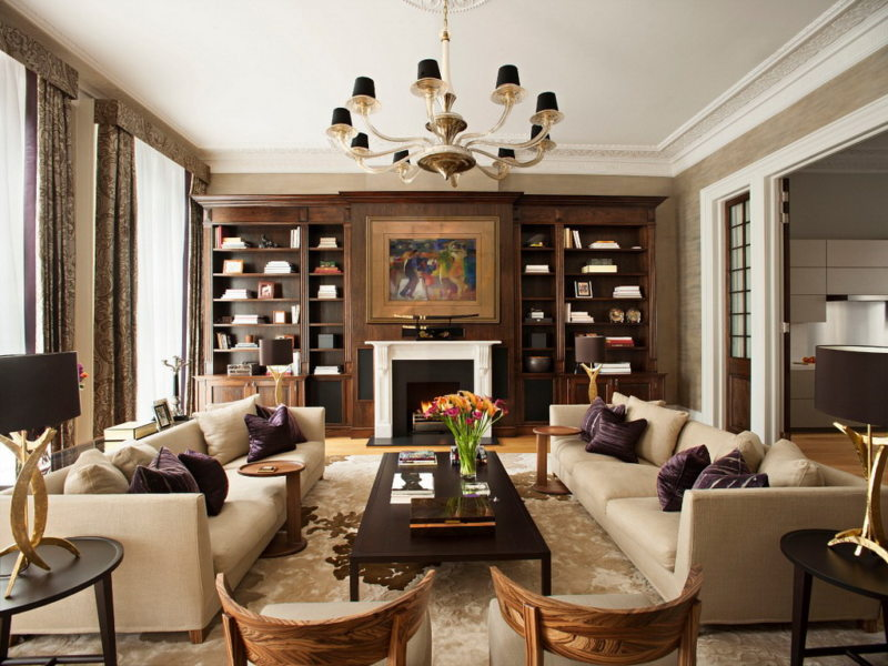Как расставить мебель в гостиной (56)