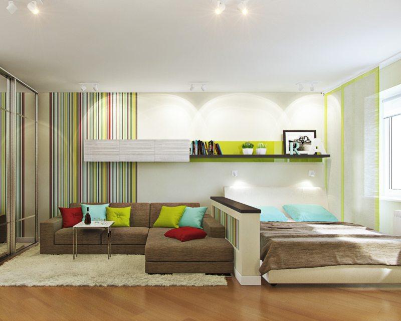 Как расставить мебель в гостиной (59)