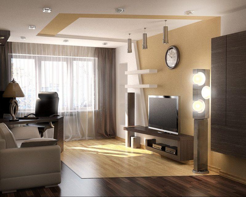 Как расставить мебель в гостиной (64)