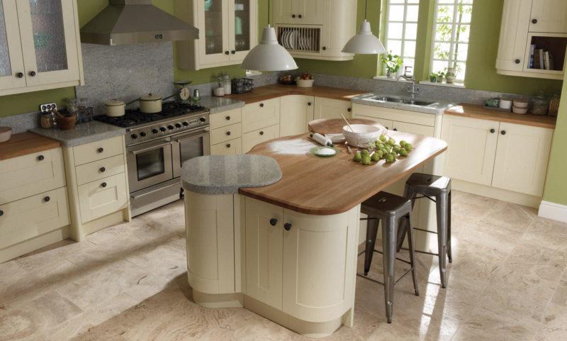 Kitchen ivory