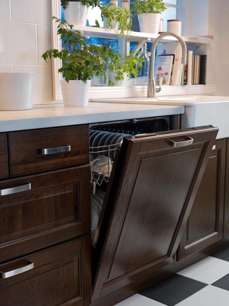 Kitchen with dishwasher (02)