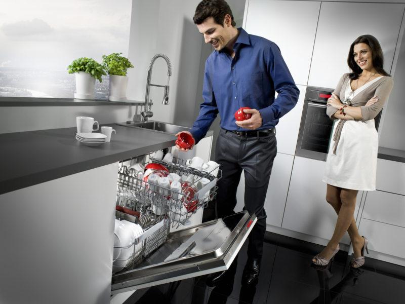 Kitchen with dishwasher (4)