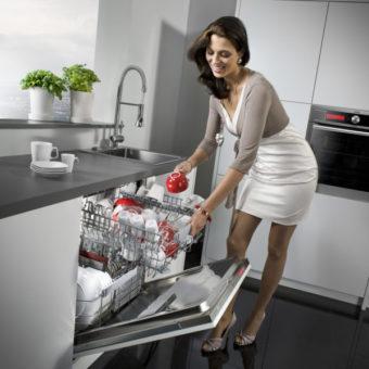 Кухня с посудомоечной машиной — мечта каждой хозяйки! 70 фото новинок дизайна.
