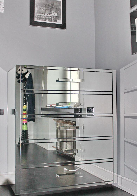 Комод-витрина для гостиной (1)