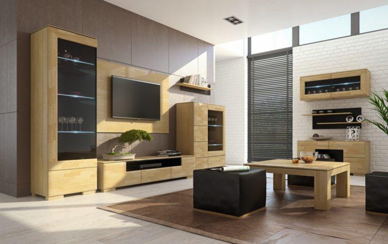 Корпусная мебель для гостиной (11)