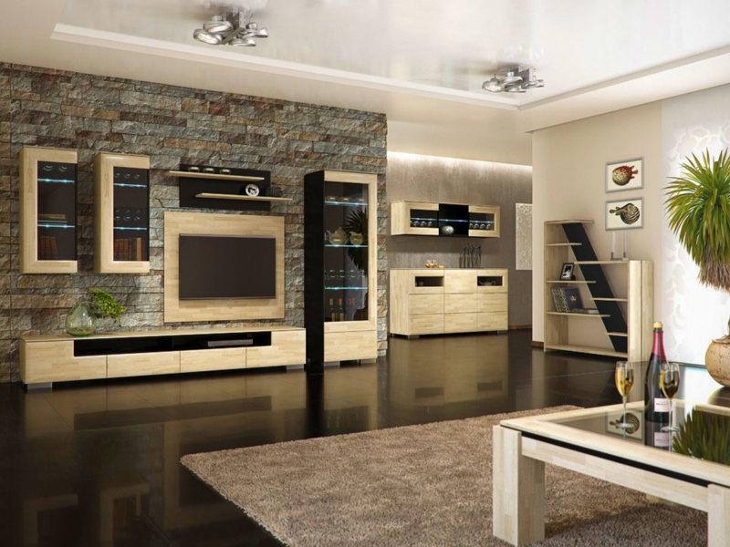 Корпусная мебель для гостиной (12)