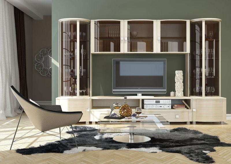 Корпусная мебель для гостиной (23)