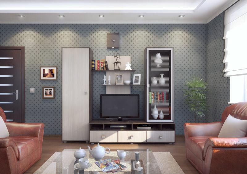 Корпусная мебель для гостиной (24)