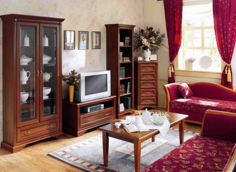 Корпусная мебель для гостиной (28)
