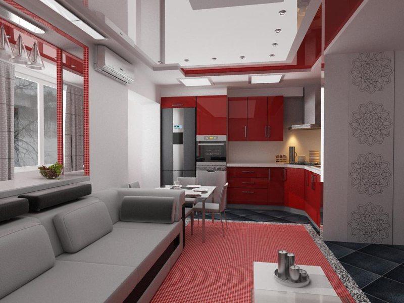 Красная гостиная (10)