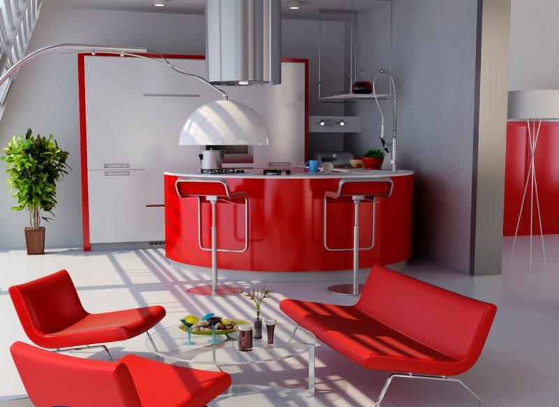 Красная гостиная (11)