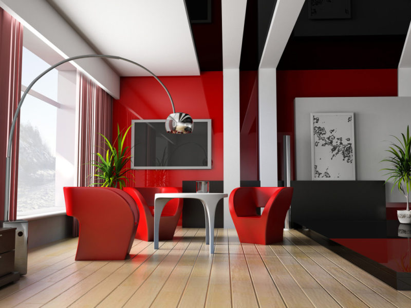 Красная гостиная (13)