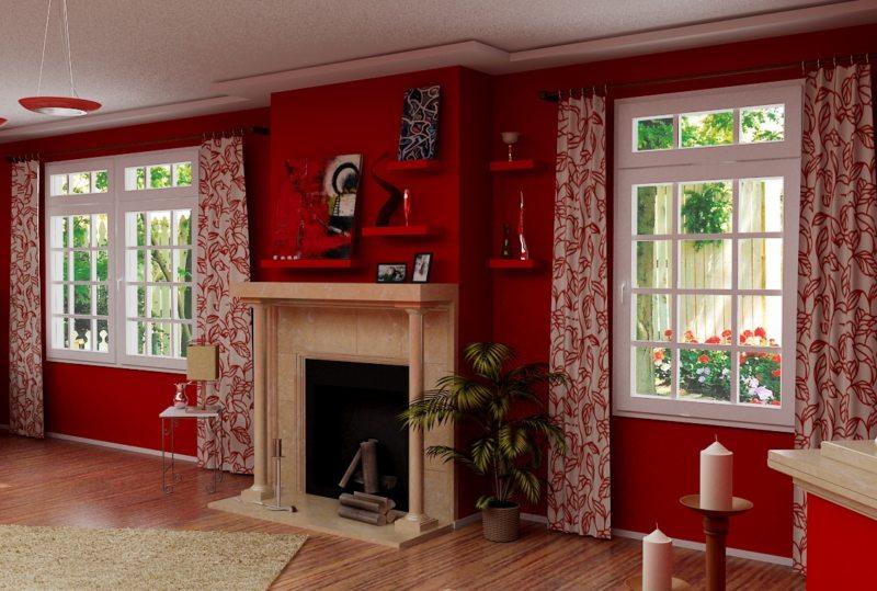 Красная гостиная (18)