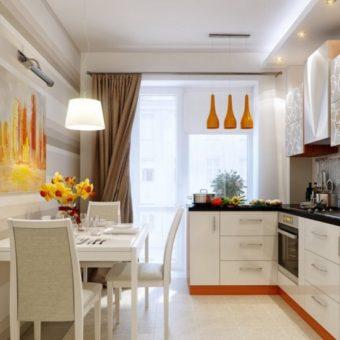 Кухня с балконом — оформляем стильно и со вкусом. Интересные варианты планировки на 90 фото.