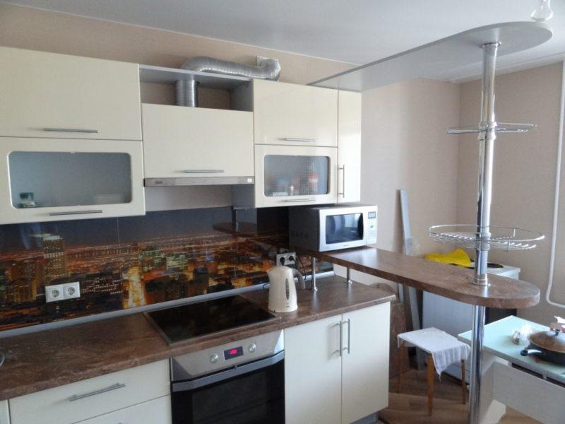 кухня с барной стойкой 70 фото идей как выполнить зонирование