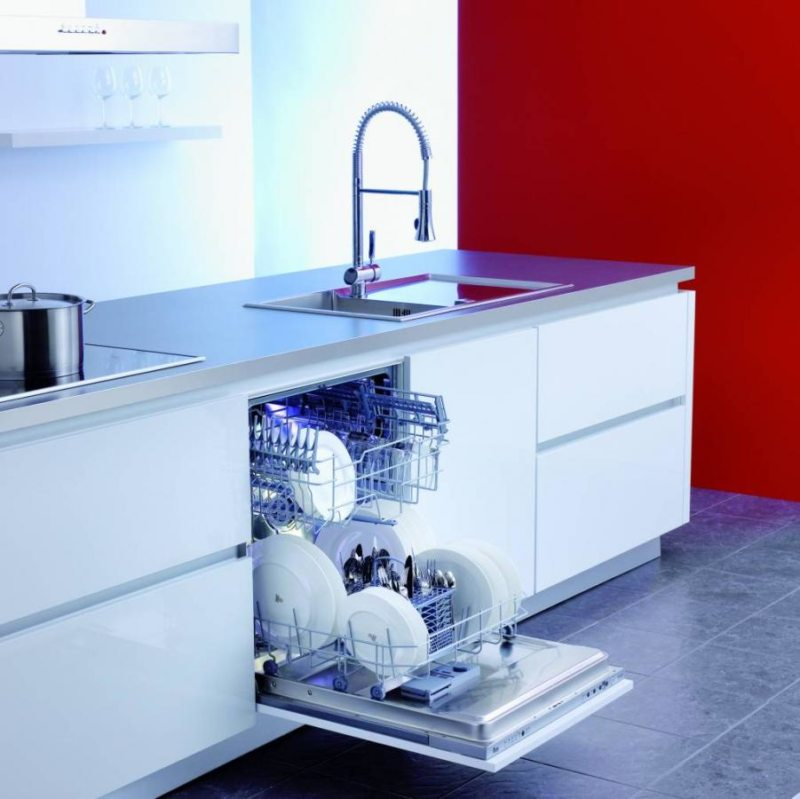 Кухня с посудомоечной машиной (2)
