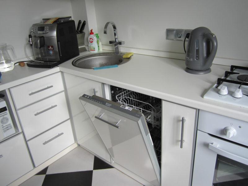 Кухня с посудомоечной машиной 5 (3)