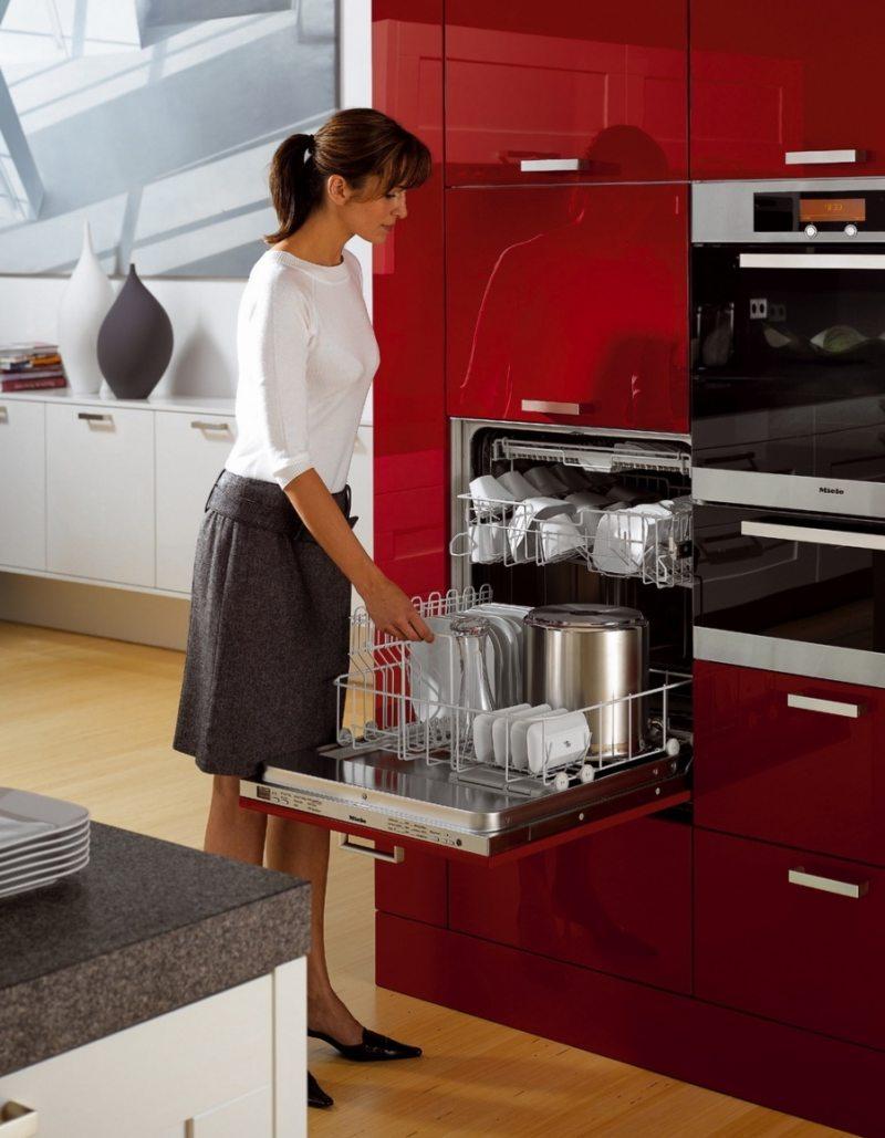 Кухня с посудомоечной машиной 5 (4)