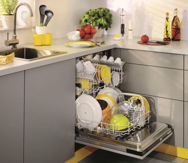 Кухня с посудомоечной машиной 5 (5)
