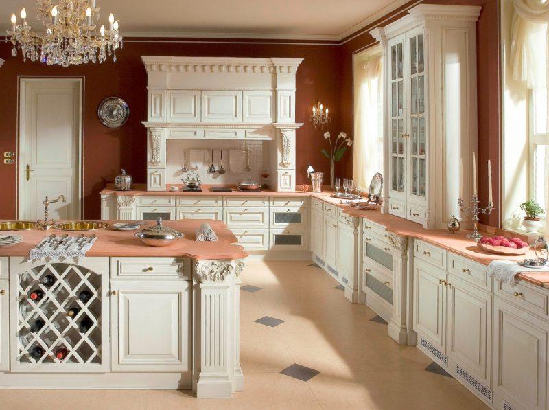 Кухня цвета слоновой кости (1)
