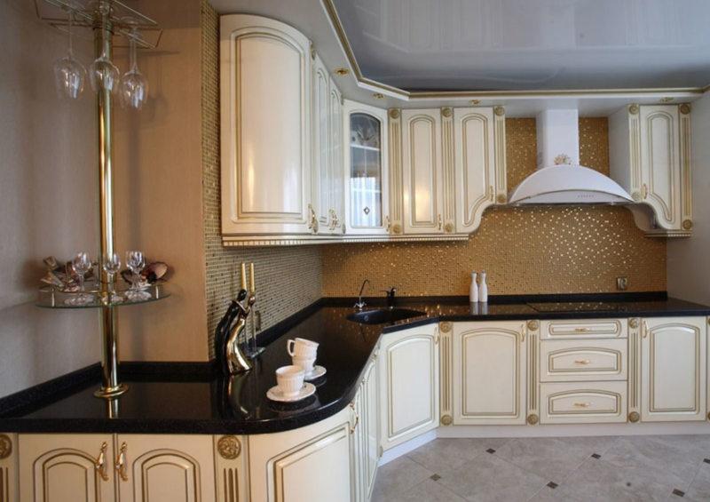 Кухня цвета слоновой кости (22)