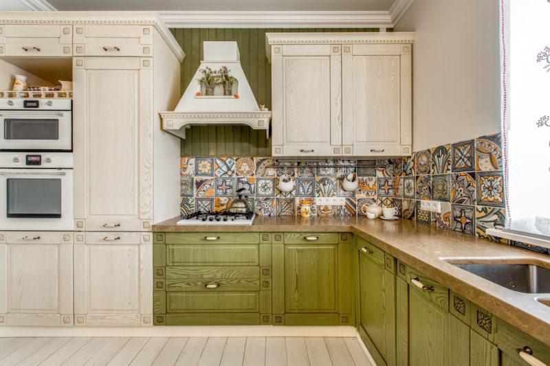Кухня цвета слоновой кости (3)