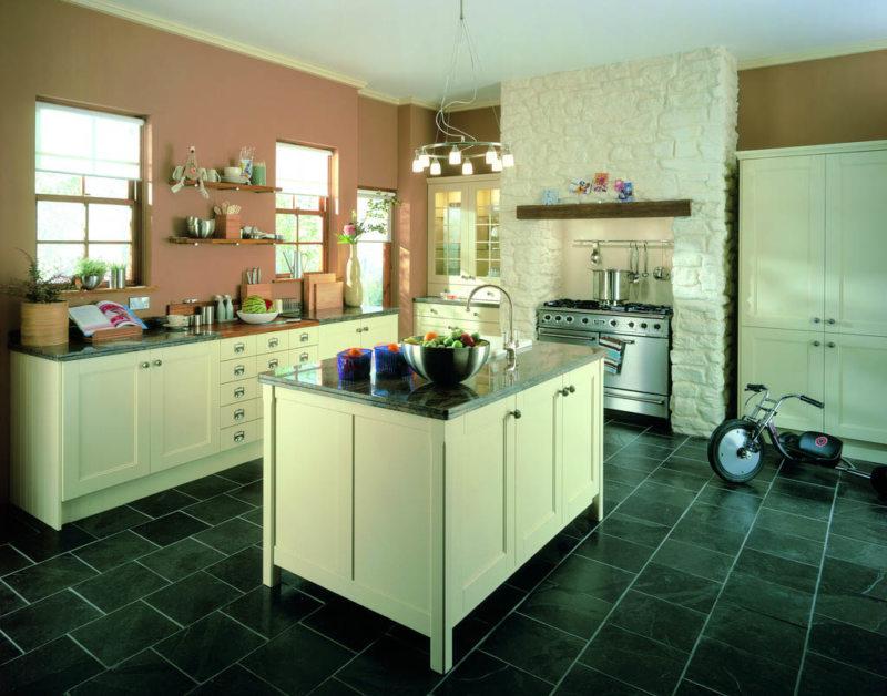 Кухня цвета слоновой кости (4)