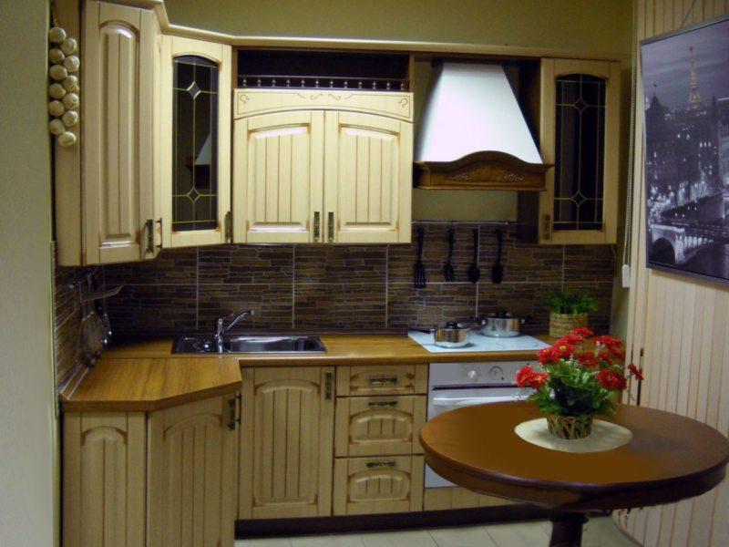 Кухня цвета слоновой кости (5)