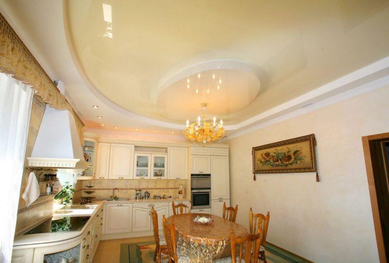 Кухня цвета слоновой кости 7 (4)