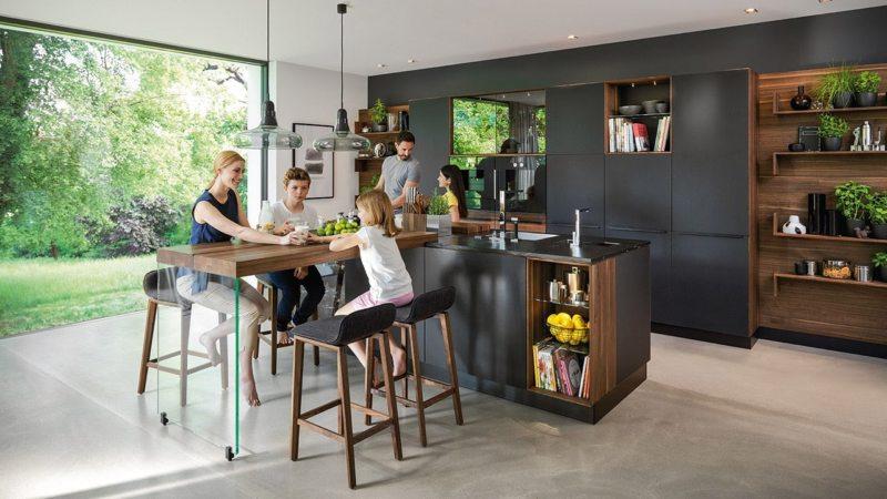 Кухня в готическом стиле (17)