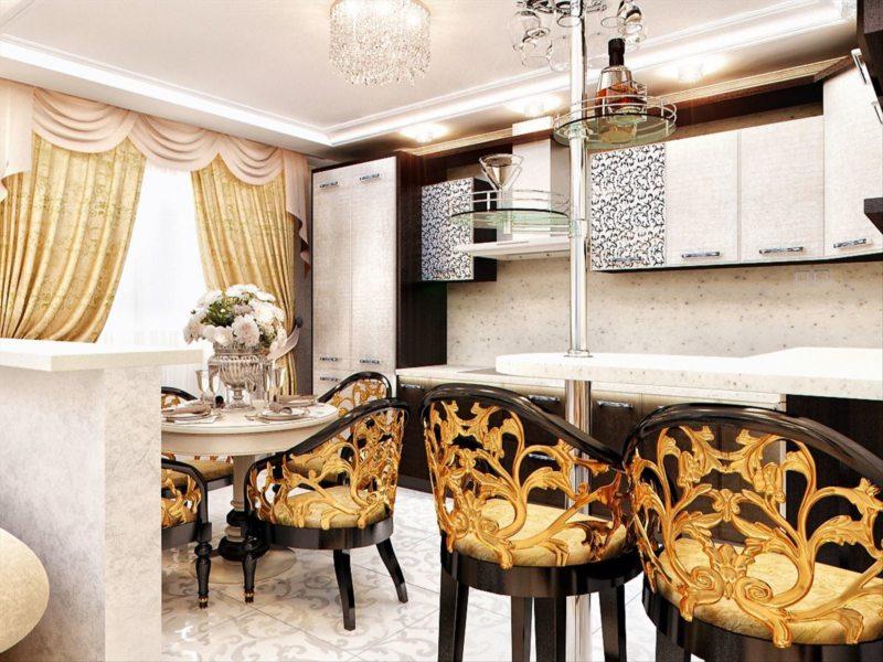 Кухня в готическом стиле (22)