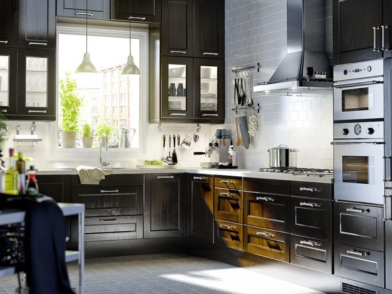 Кухня в готическом стиле (24)