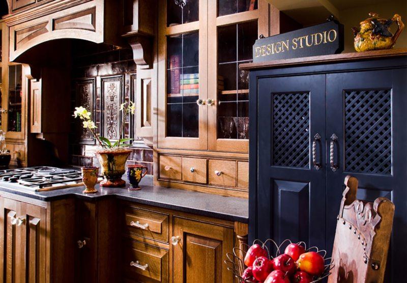 Кухня в готическом стиле (4)