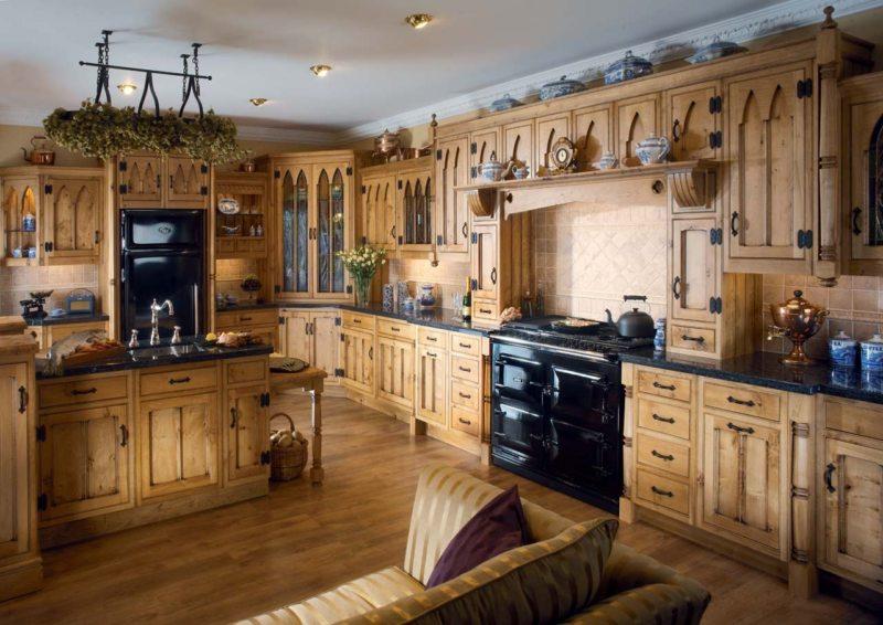 Кухня в готическом стиле (6)