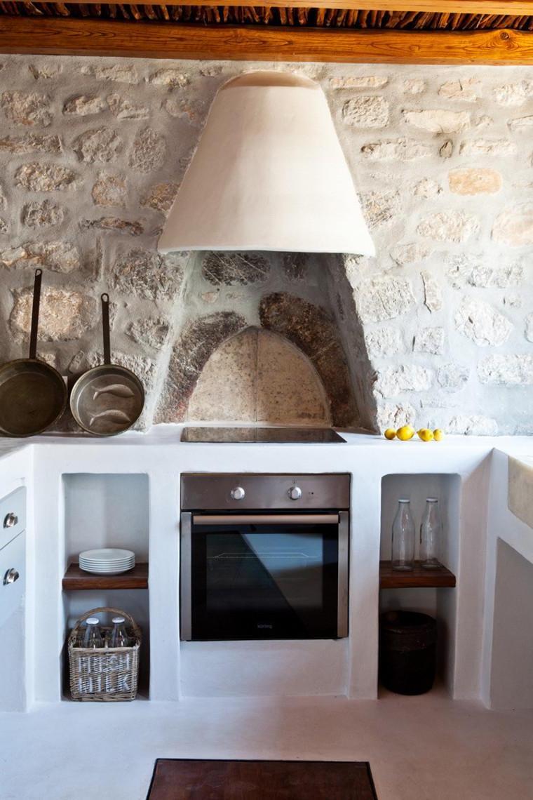 Кухня в греческом стиле (15)