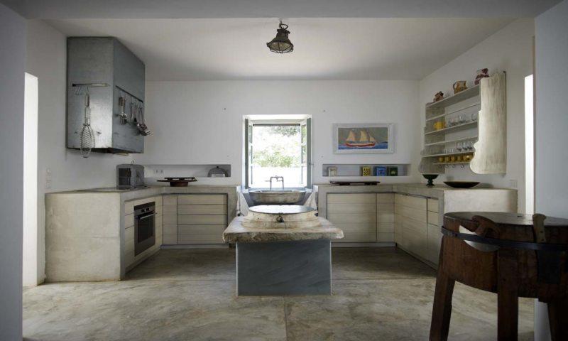 Кухня в греческом стиле (24)