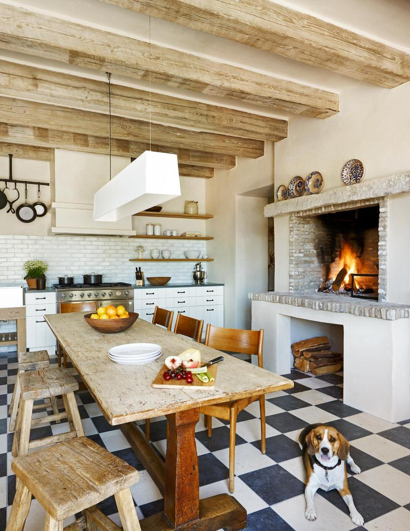 Кухня в стиле эклектика (2)