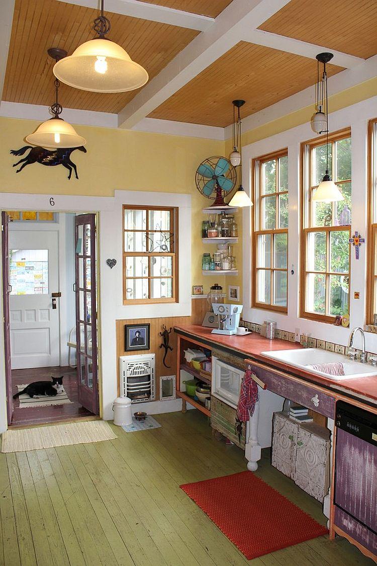 Кухня в стиле эклектика (25)