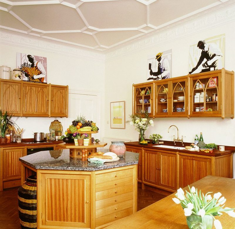 Кухня в стиле эклектика (28)