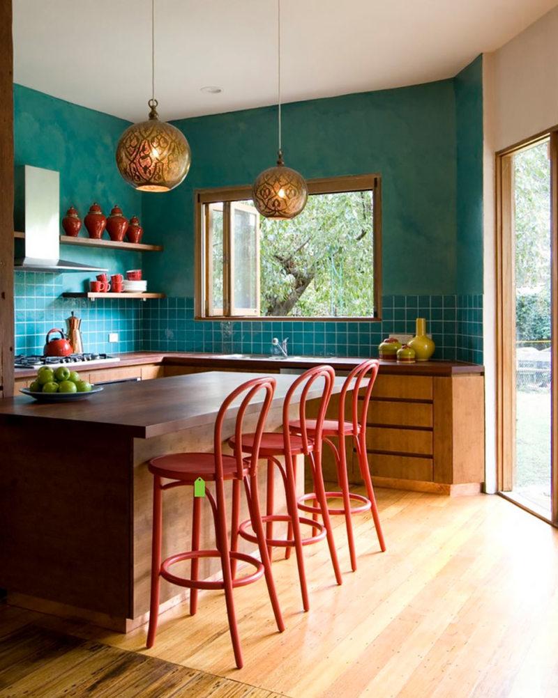 Кухня в стиле эклектика (3)