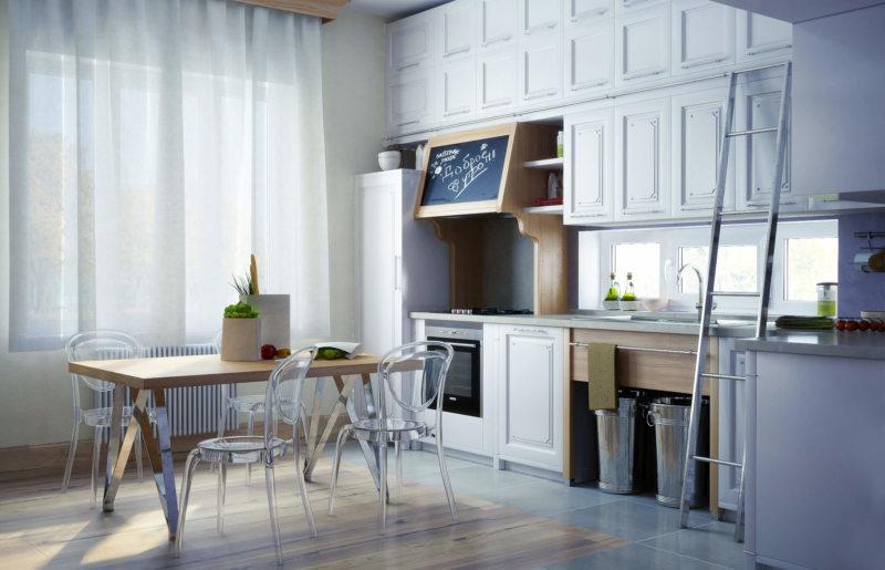 Кухня в стиле эклектика (31)