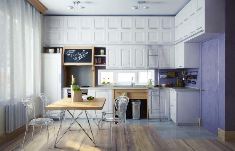 Кухня в стиле эклектика (38)