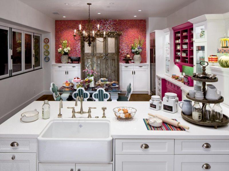 Кухня в стиле эклектика — 75 фото функционального и нежного дизайна