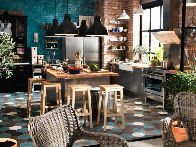 Кухня в стиле эклектика (4)