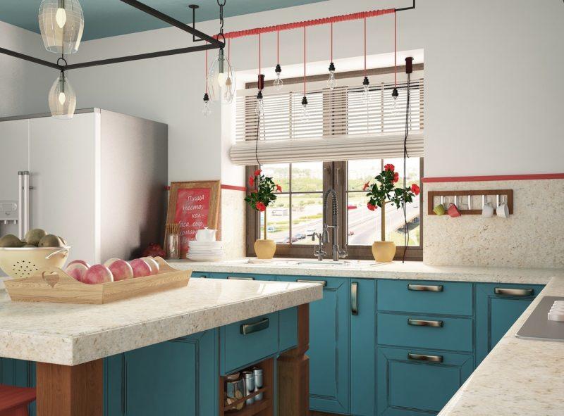 Кухня в стиле эклектика (45)